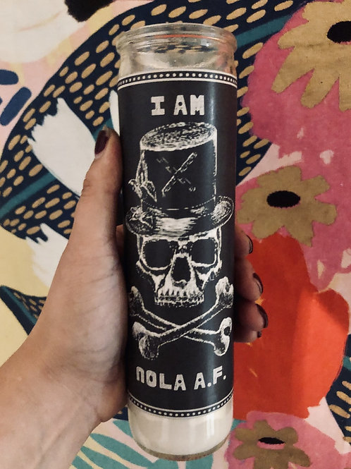 NOLA AF Devotional Prayer Saint Candle