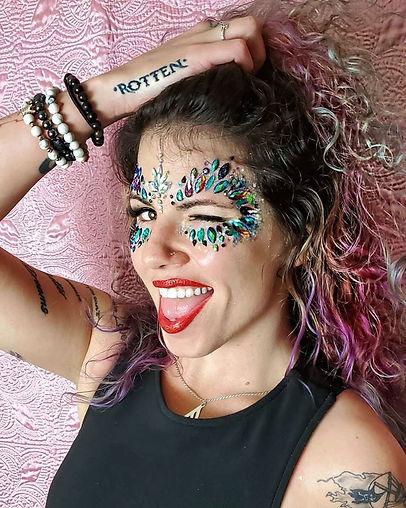 Face jewels, Glitter, Lip Glitter
