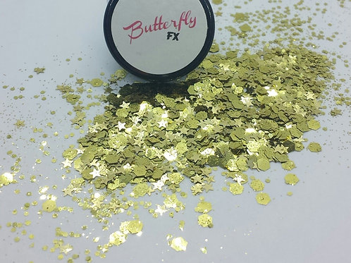 Stay Gold Chunky Glitter
