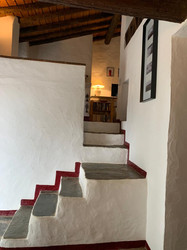 Escadas para a sala