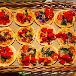 Pizza de Flores - Comellatos