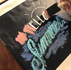 DIY Canvas Banner