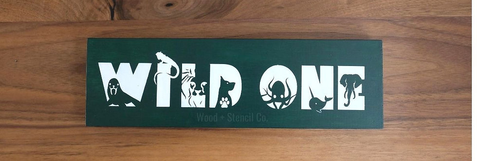 """Ready-Made Wood Sign (3.5""""X11"""")"""