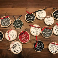 2020 Covid Inspired Ornaments