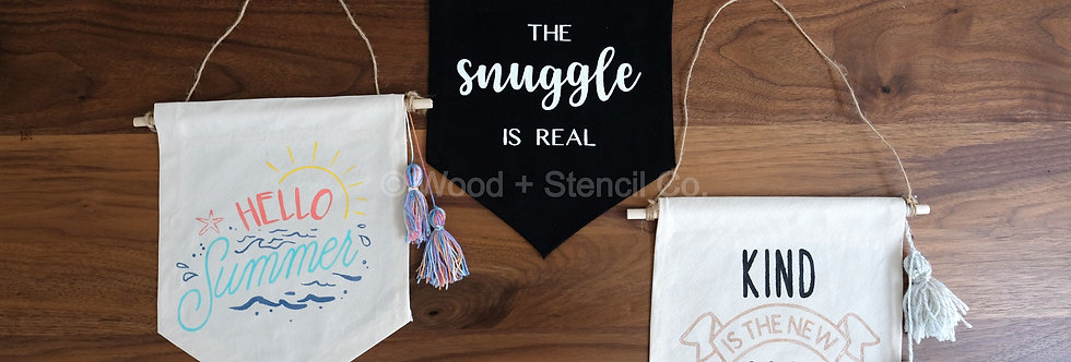 Ready-Made Canvas Banner