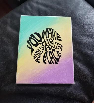 DIY Canvas Art Kit