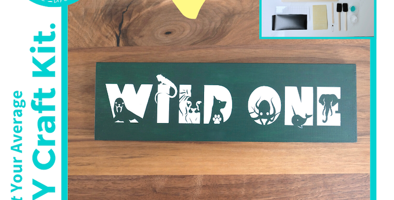 DIY Wood Sign Kit