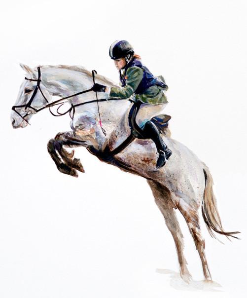 Hose and rider