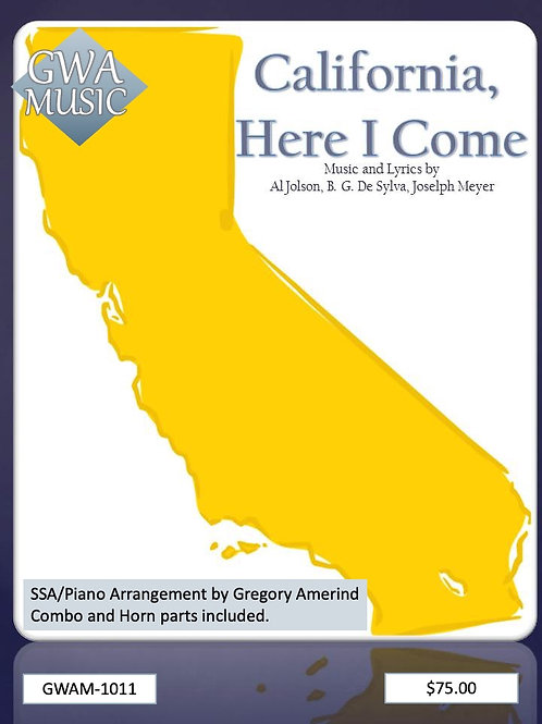 California, Here I Come