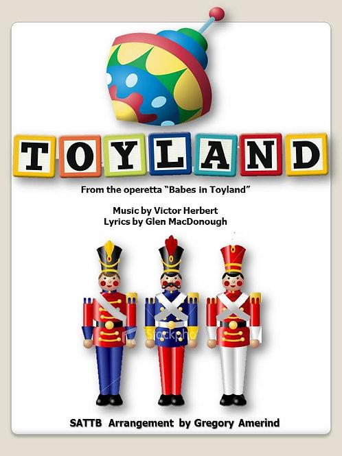 Toyland - SATB unaccompanied