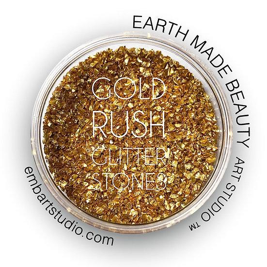 Gold Rush Glitter Stones