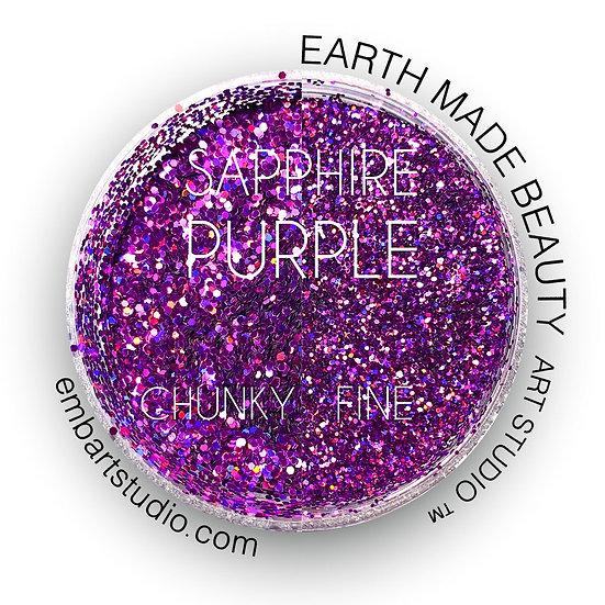 Sapphire Purple Glitter