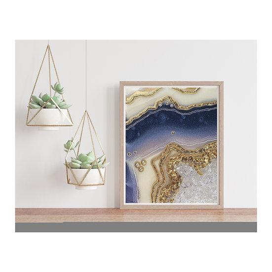 Cosmic Geode Digital Download for Prints