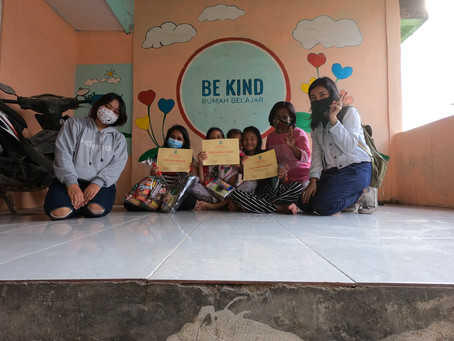 The End Year of 2020 Be Kind House Activity