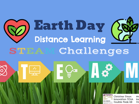 Earth Day STEAM Challenge!