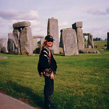 Brett finds inspiration at the site of the Stonehenge ancient rock formation.