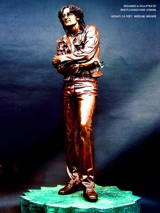 """The John Lennon Statue"""