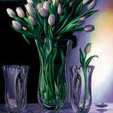 """White Tulips"""
