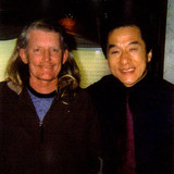 Jackie Chan discussing his interest in Brett's architecture for China.
