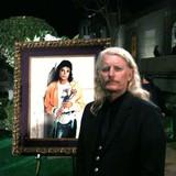 Brett at Michael Jackson's private funeral at Forest Lawn Memorial Park in Glendale - September 3, 2009