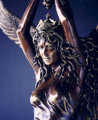 """Statue of Freedom Angel"""