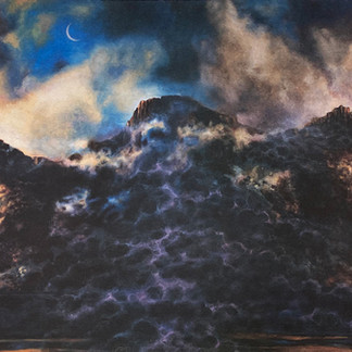 """""""Mountain and Moon"""""""