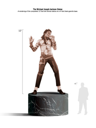 """The Michael Joseph Jackson Memorial Monument"""