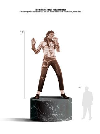"""The Michael Joseph Jackson Memorial Monument"""