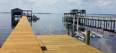 Finished Dock