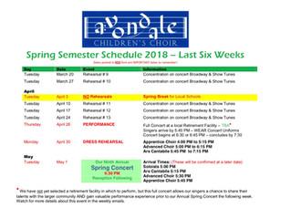 Weekly Update - 3/19