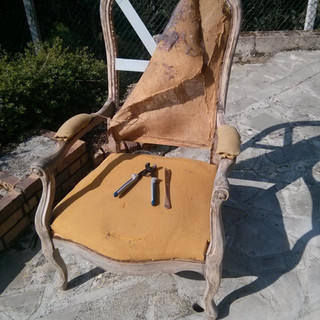 Cours de réfection de fauteuil