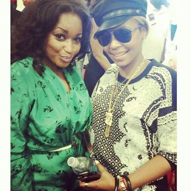 Singer Ashanti & Ashleigh Demi