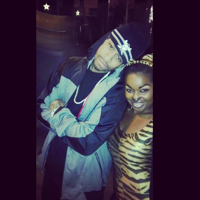Halloween 2012 with NBA's Allen Iver