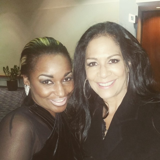 Backstage with Sheila E.