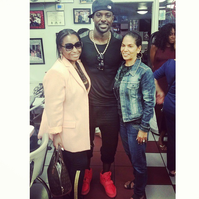 Actor Lance Gross, Vida Ali