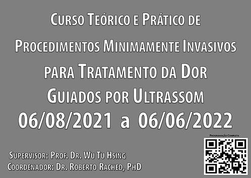 06 de agosto - Curso Procedimentos p/Tratamento Dor Guiado USG
