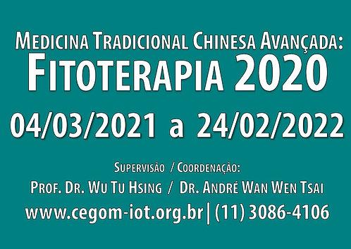 05 de março - Fitoterapia I: Medicina Tradicional Chinesa