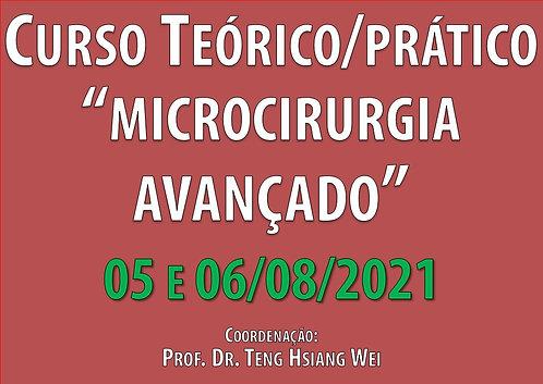 05 e 06 de agosto - Curso Avançado de Microcirurgia