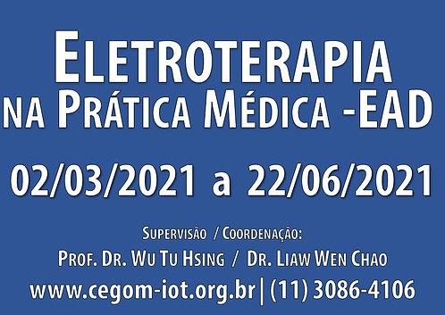 02 de março -Curso Online de Eletroterapia na Prática Médica