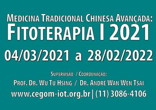 04 de março - Fitoterapia I: Medicina Tradicional Chinesa