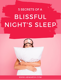 5 Serets of Blissful Sleep.png