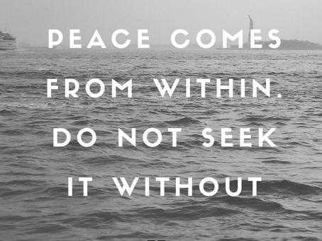 Peace! 🌼