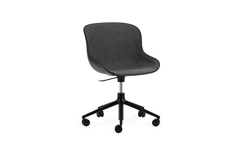 Hyg Chair Swivel 5W Gaslift Front Upholstery