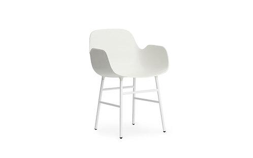 Form Arm Chair w/ Steel Legs