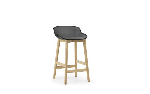 Hyg Barstool 65 cm Front Upholstery Wood