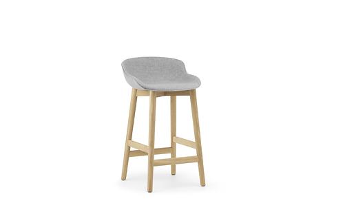Hyg Barstool 65 cm Full Upholstery Wood