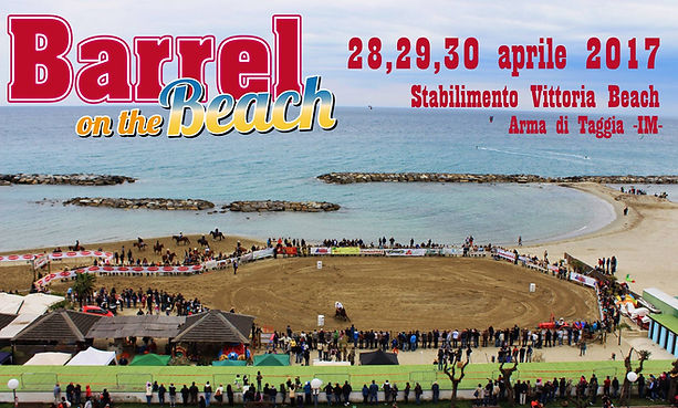 Barrel on the Beach 2017