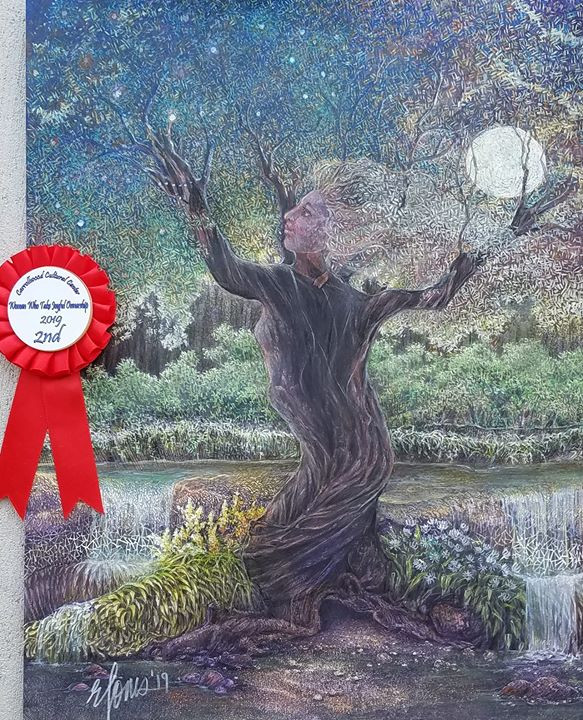 "GAIA DANCING won 2nd place in Carrollwood Cultural Center's ""Women who take joyful ownership"" competition 2019."