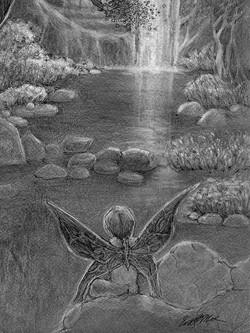 Midnight Fairy b/w