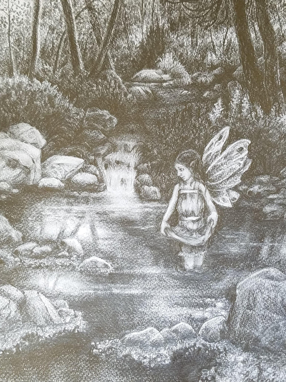Woodland Fairy Sketch